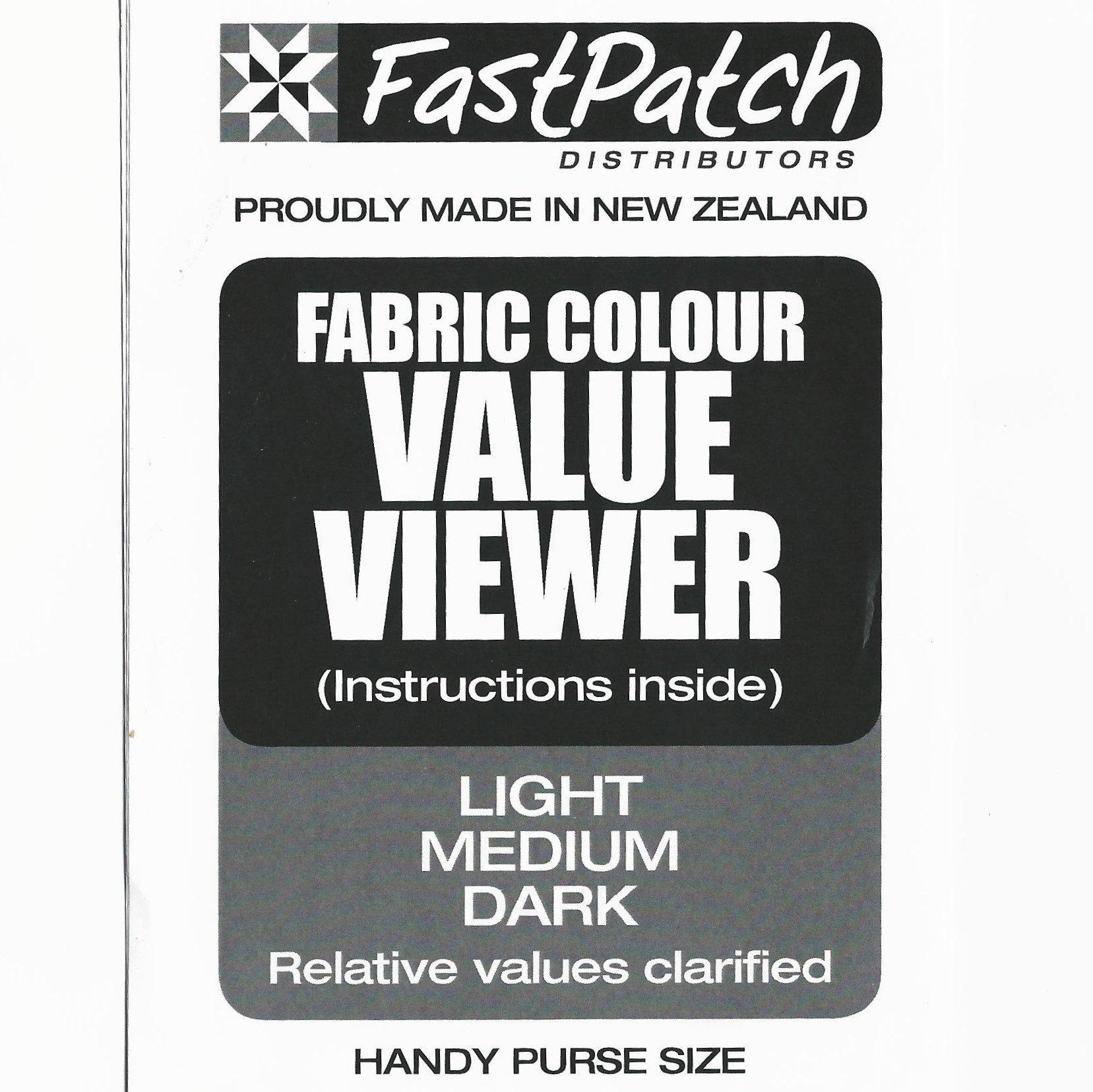 Fastpatch Fabric Colour Value Viewer Light Medium And Dark