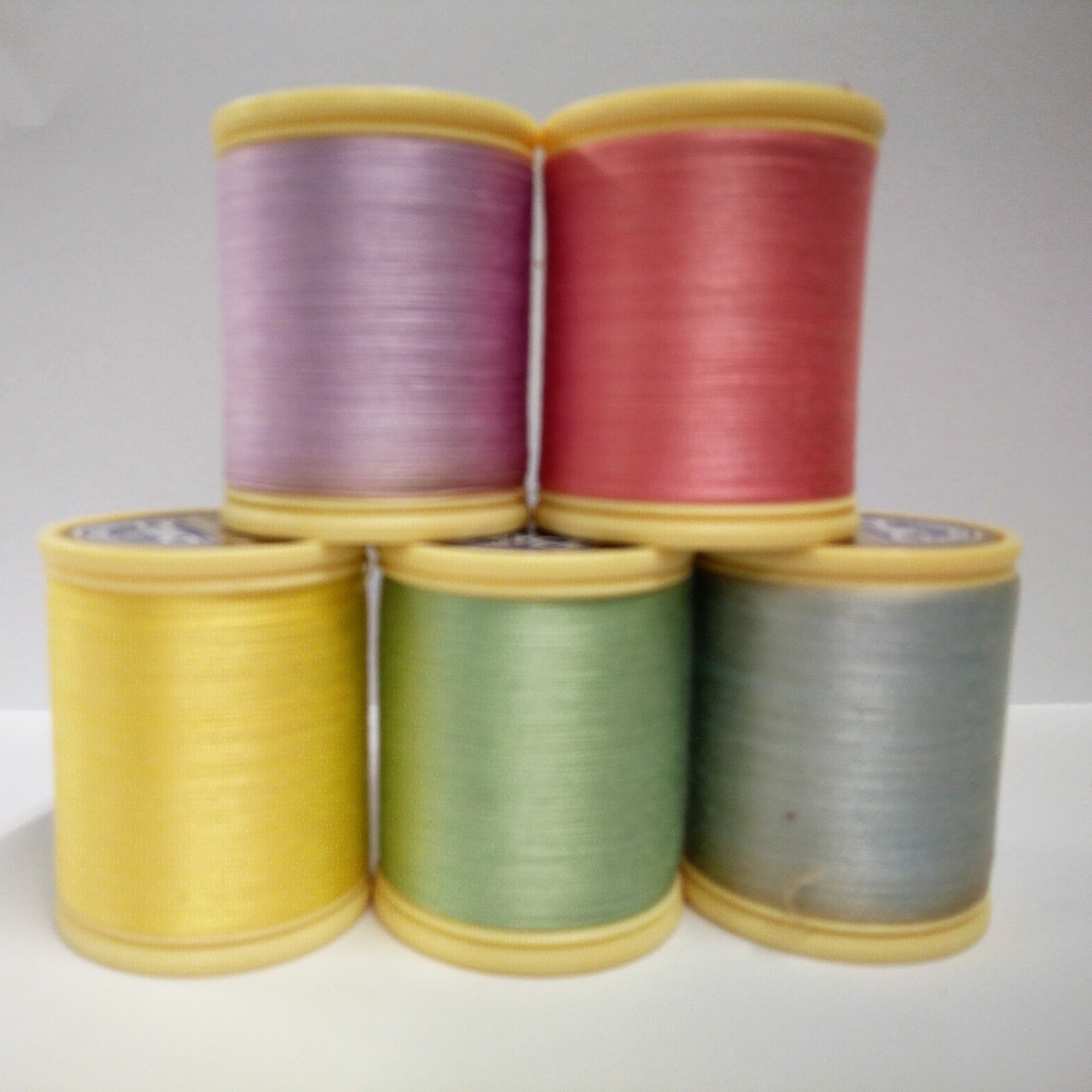 DMC - Machine Embroidery Thread - Starter Pack of 5 - Pastels (DM23750-AS1)
