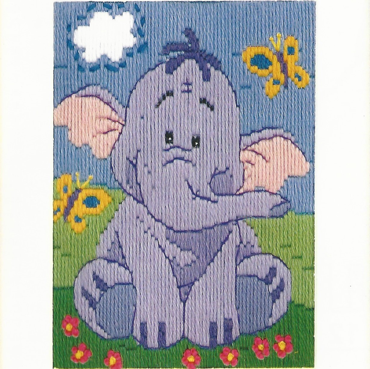Disney Heffalump Long Stitch Kit A Heart Full Of Sewing