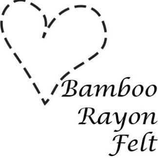 Bamboo Rayon Felt